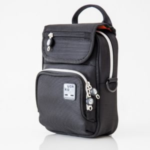 Vertical Bag - Black