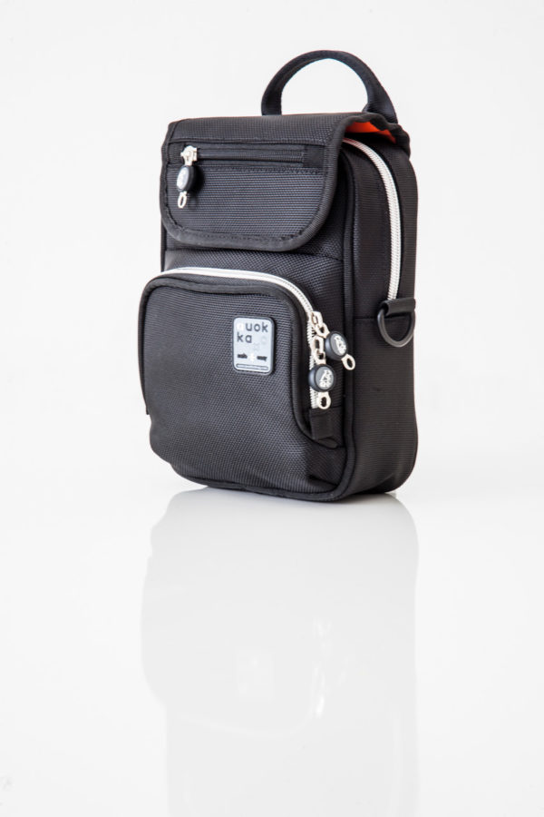 Vertical Bag - Black